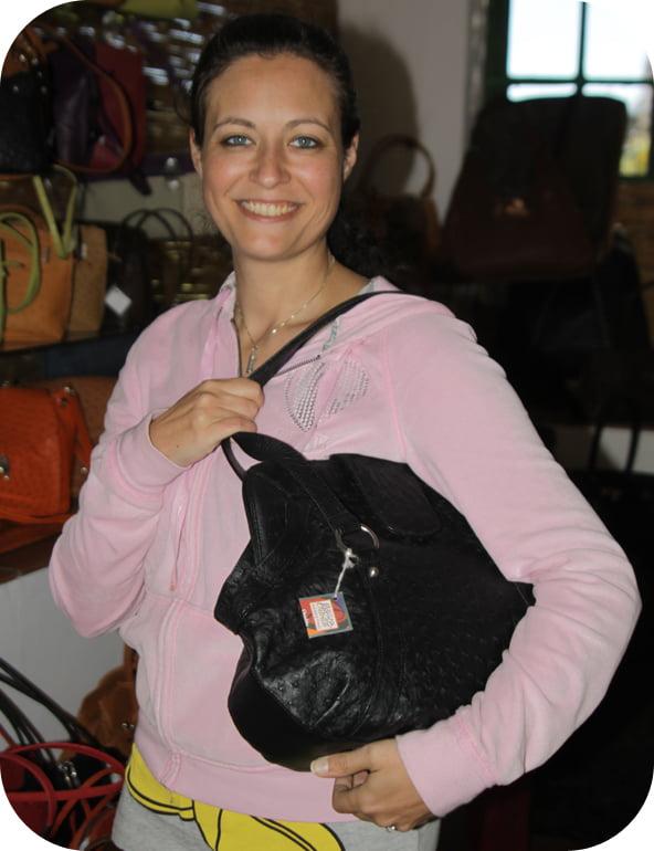 Ostrich-bag