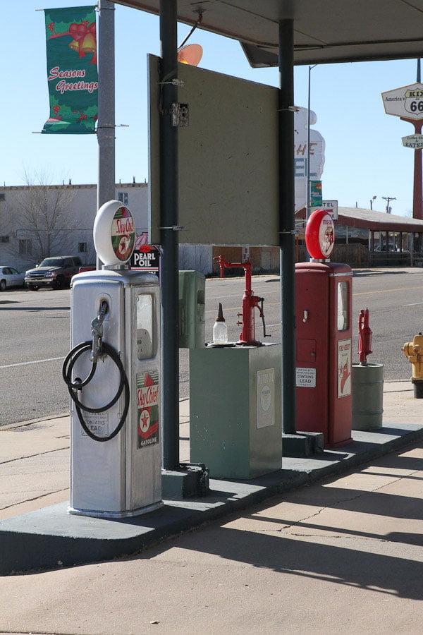 Texaco Gas station - Tucumcari, New Mexico.