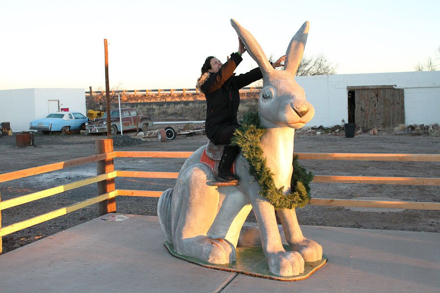 Giants along Route 66: Giant JackRabbit