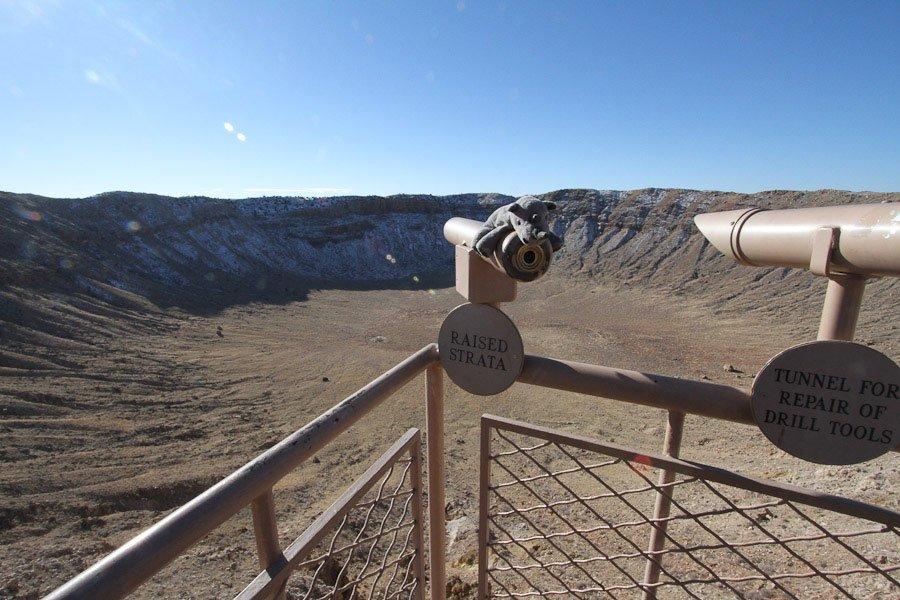 Bucket List - Best preserved Meteor Crater, Winslow, Arizona