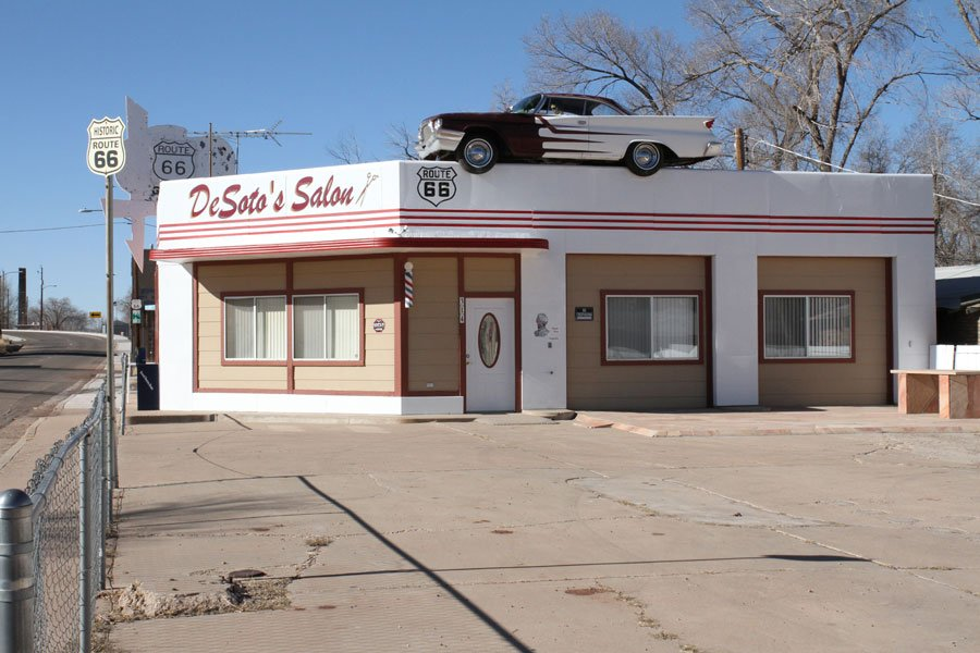 Desoto´s Salon in Ash Fork, Arizona