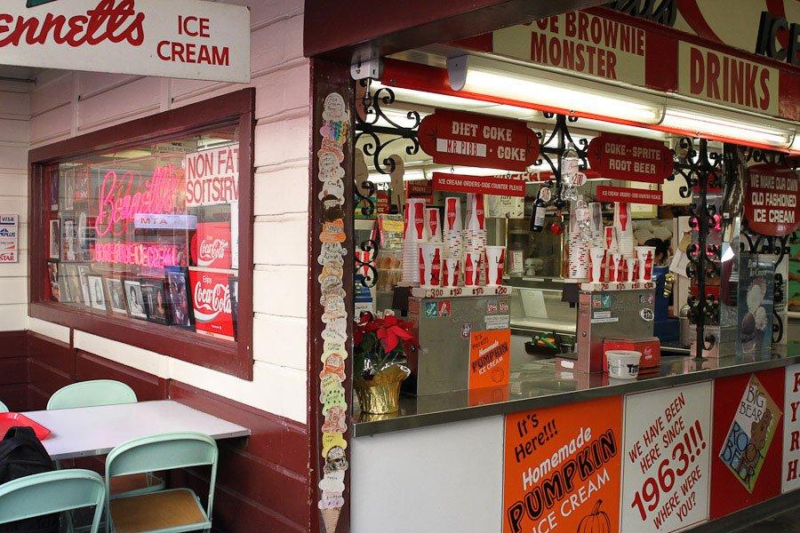 Bucket List - Bennett's Ice Cream - Pumpkin Ice Cream!