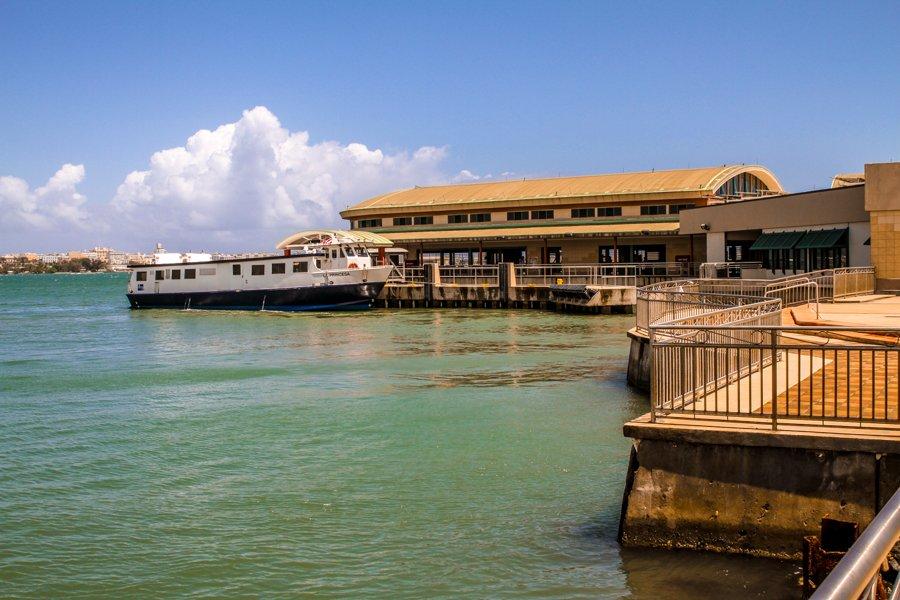 Casa Bacardi boat