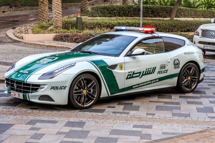 High End Cars: Dubai Police High End Cars