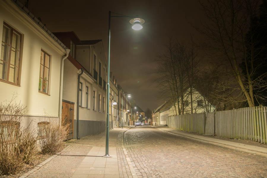 Streetlights in Lund