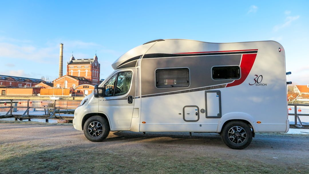 Motorhomes in Sweden are Growing