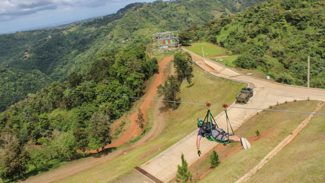 World's longest Zip line Puerto Rico