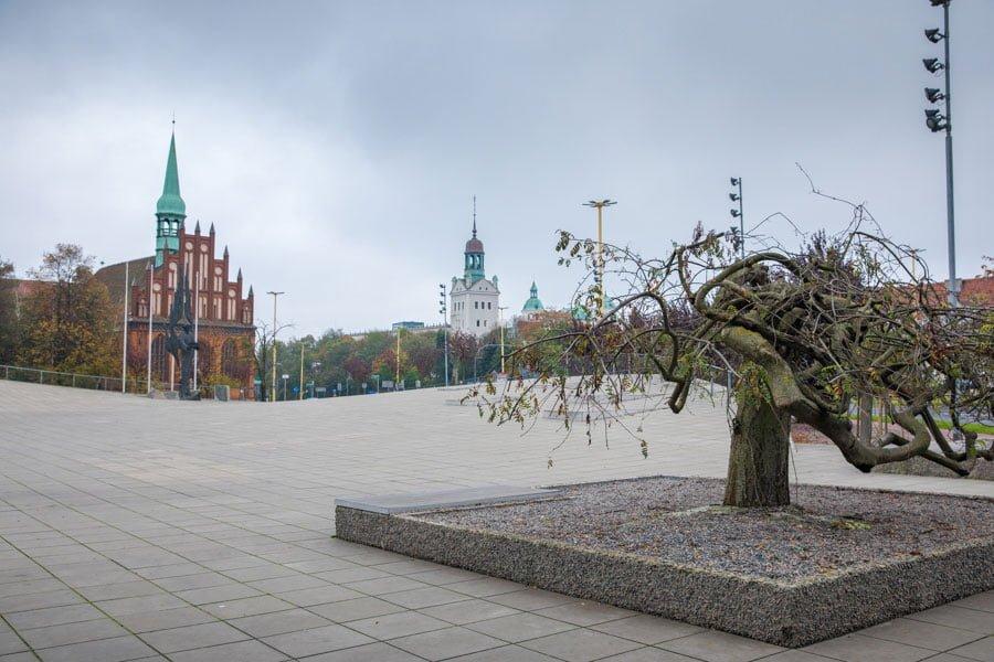walking in Szczecin