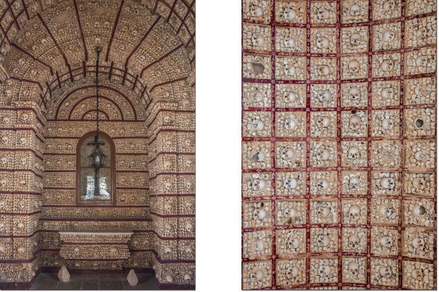 The bone chapel in Faro, Portugal