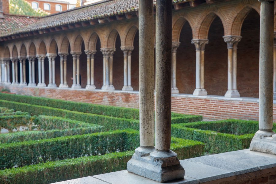 Visit a monastery in the city center of Toulouse